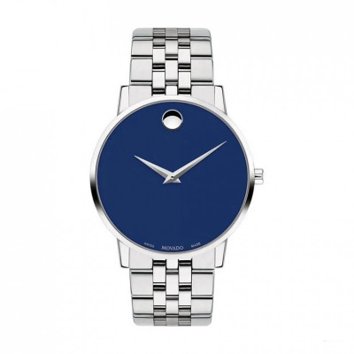 MOVADO MUSEUM QUARTZ 40MM MEN'S WATCH 607212