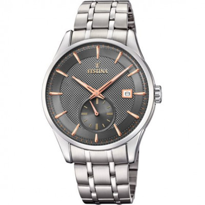 FESTINA RETRO 41MM MEN`S WATCH F20276/3