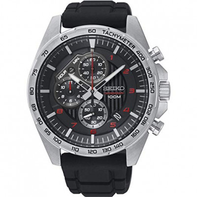 SEIKO SPORT CHRONOGRAPH QUARTZ 44MM MEN'S WATCH SSB325P1