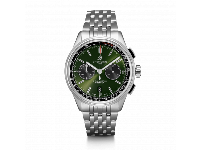 BREITLING PREMIER B01 CHRONOGRAPH 42 BENTLEY MEN'S WATCH AB0118A11L1A1