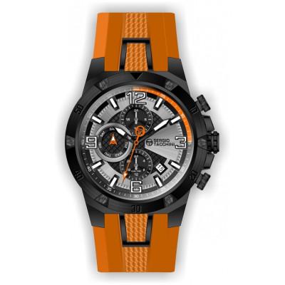 SERGIO TACCHINI DUAL TIME 45MM MEN`S WATCH ST.1.10138-4