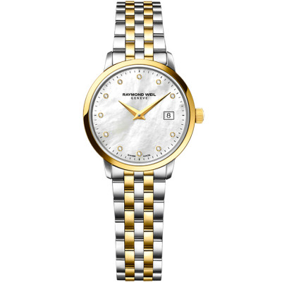 RAYMOND WEIL TOCCATA QUARTZ 29MM LADIES WATCH 5988-STP-97081