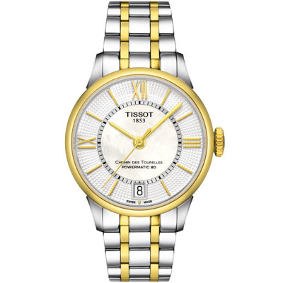 TISSOT CHEMIN DES TOURELLES POWERMATIC 80 32MM LADIES WATCH T099.207.22.118.00