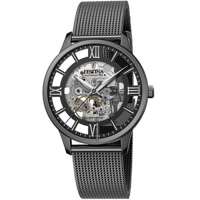 FESTINA SKELETON AUTOMATIC 41.5MM MEN`S WATCH F20535/1