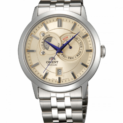 ORIENT CLASSIC AUTOMATIC SUN AND MOON 42ММ MEN'S WATCH FET0P002W