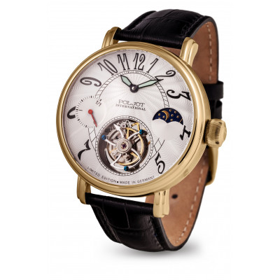 POLJOT INTERNATIONAL TOURBILLON POWER RESERVE 43MM MEN'S WATCH LIMITED EDITION 100PIECES  3340.T15