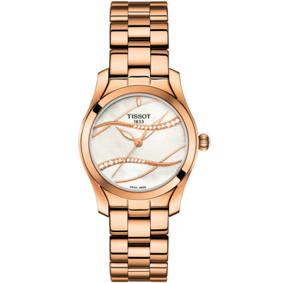 TISSOT T-WAVE 30 MM LADY'S T112.210.33.111.00
