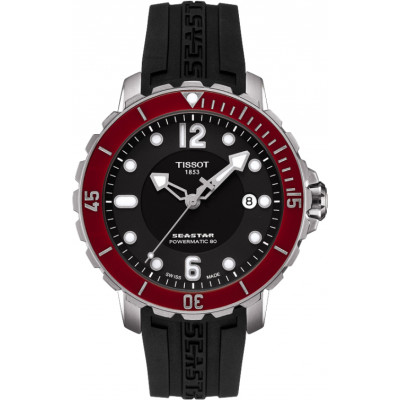 TISSOT SEASTAR 1000 POWERMATIC80 42MM MEN'S WATCH T066.407.17.057.03