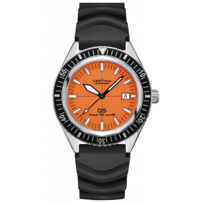 CERTINA DS SUPER PH500M AUTOMATIC SPECIAL EDITION 43MM MEN'S WATCH C037.407.17.280.10