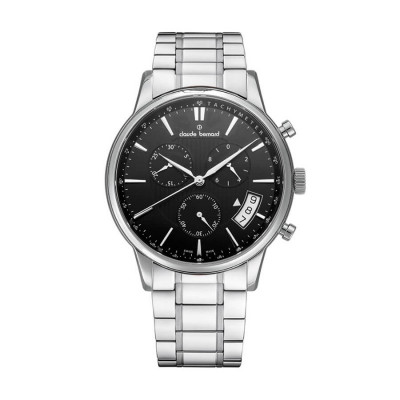 CLAUDE BERNARD CLASSIC CHRONO 42MM MEN'S WATCH 01002 3M2 NIN
