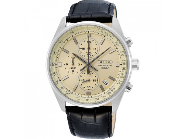 SEIKO SPORT CHRONOGRAPH QUARTZ 42MM MEN'S WATCH SSB383P1