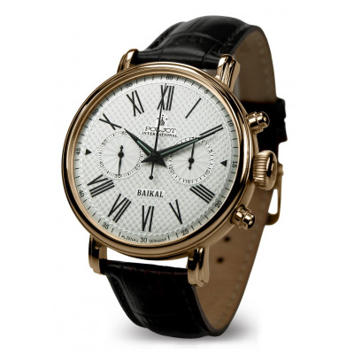 POLJOT INTERNATIONAL BAIKAL CHRONOGRAPH HAND WINDING 43MM MEN'S WATCH 2901.1940611