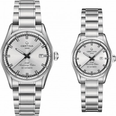 CERTINA DS-1 DAY DATE AUTOMATIC ANNIVERSARY EDITION LADY&MEN SET  WATCHES C006.407.11.031.99