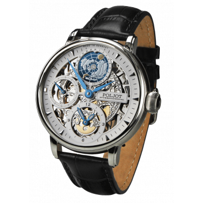 POLJOT INTERNATIONAL GLOBETROTTER HAND WINDING 43MM MEN'S WATCH LIMITED EDITION 300PIECES  9730.2940551