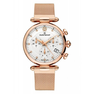 CLAUDE BERNARD DRESS CODE CHRONOGRAPH 35 MM.LADIES' WATCH  10216 37R APR2