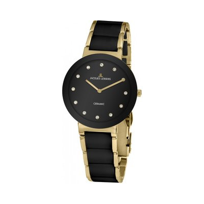 JACQUES LEMANS HIGH TECH CERAMIC 34MM LADY 42-7K