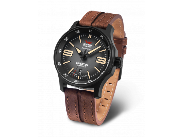 VOSTOK EUROPE EXPEDITION AUTOMATIC 43MM MEN'S WATCH NH35-592C554