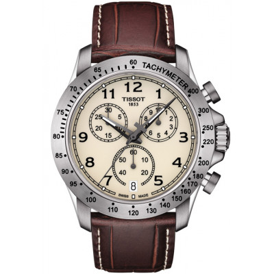 TISSOT V8 QUARTZ CHRONOGRAPH 42.5MM MEN'S WATCH T106.417.16.262.00