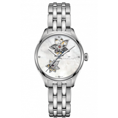 HAMILTON JAZZMASTER OPEN HEART 34MM LADY H32115192