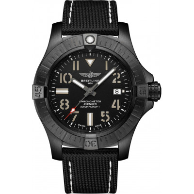 BREITLING AVENGER AUTOMATIC 45 SEAWOLF NIGHT MISSION MEN'S WATCH V17319101B1X1