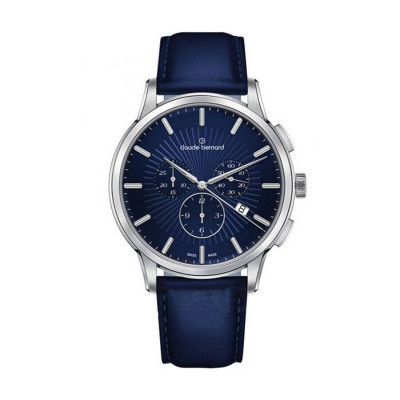 CLAUDE BERNARD CLASSIC CHRONO 43MM MEN'S WATCH 10237 3 BUIN