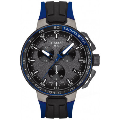 TISSOT T-RACE CYCLING 44.5MM MEN'S WATCH  T111.417.37.441.06