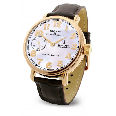 POLJOT INTERNATIONAL  NIGHTS  OF ST. PETERSBURG SPECIAL EDITION HAND WINDING 43MM MEN'S WATCH  9011.1940867