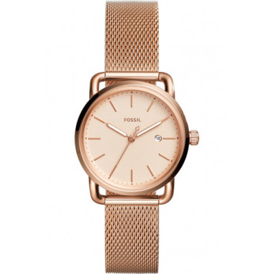 FOSSIL THE COMMUTER 3H DATE LADY'S 34MM ES4333