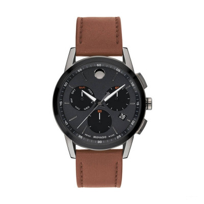 MOVADO MUSEUM SPORT  QUARTZ 44MM MEN'S WATCH 607290