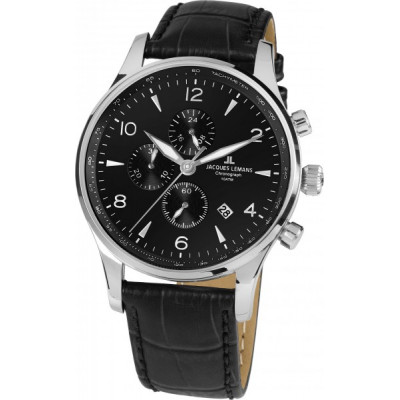 JACQUES LEMANS LONDON 44 MM MEN'S 1-1844ZA