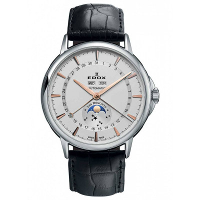 EDOX LES BEMONTS 130TH ANNIVERSARY AUTOMATIC 44MM MEN'S WATCH LIMITED EDITION 130PIECES 90004 3 AIR