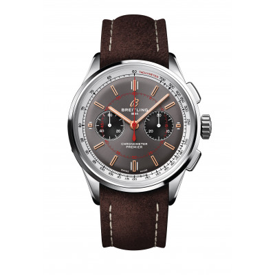 BREITLING PREMIER B01 CHRONOGRAPH 42 WHEELS AND WAVES LIMITED EDITION 500PCS MEN'S WATCH  AB0118A31B1X2