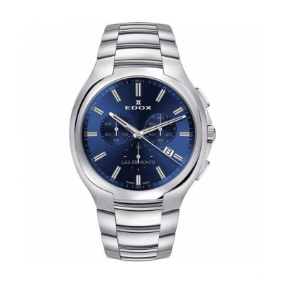 EDOX LES BEMONTS QUARTZ  42MM MEN'S WATCH 10239 3 BUIN