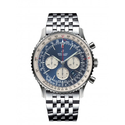 BREITLING NAVITIMER B01 CHRONOGRAPH 46 MEN'S WATCH  AB0127211C1A1