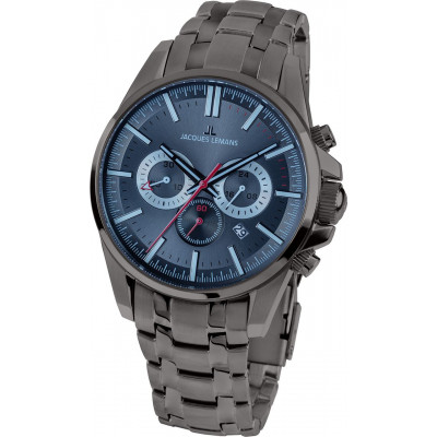 JACQUES LEMANS SPORT 44MM MEN'S 1-1799Q