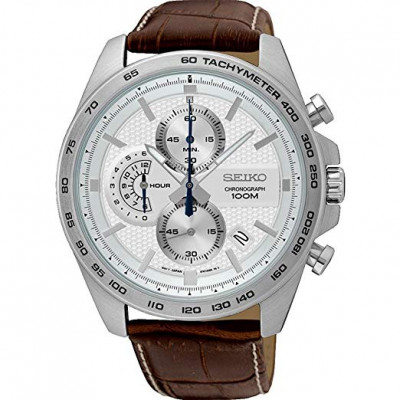 SEIKO CHRONOGRAPH QUARTZ 44MM MEN'S WATCH SSB263P1