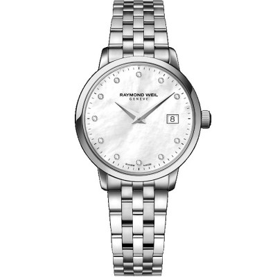 RAYMOND WEIL TOCCATA QUARTZ 29MM LADIES WATCH 5988-ST-97081
