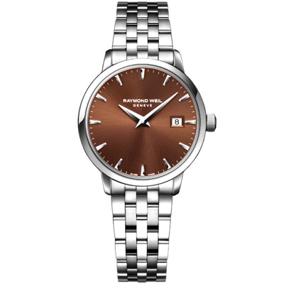 RAYMOND WEIL TOCCATA QUARTZ 29MM LADIES WATCH 5988-ST-70001
