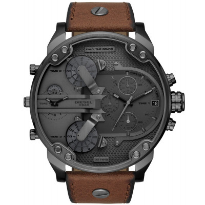 DIESEL THE DADDIES SERIES 57 MM MEN'S WATCH DZ7413