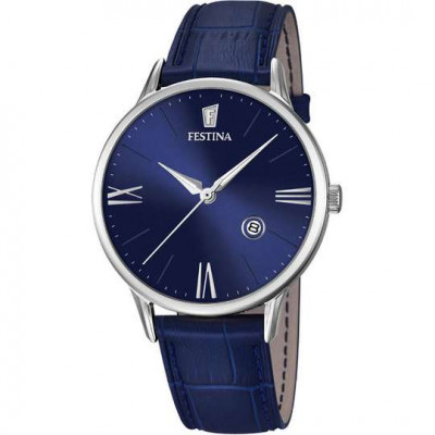FESTINA RETRO 42MM MEN`S WATCH  F16824/3