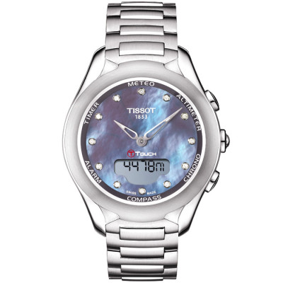 TISSOT T-TOUCH SOLAR 39.5MM LADIES WATCH  T075.220.11.106.01