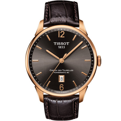 TISSOT CHEMIN DES TOURELLES POWERMATIC 80 42MM MEN'S WATCH T099.407.36.447.00