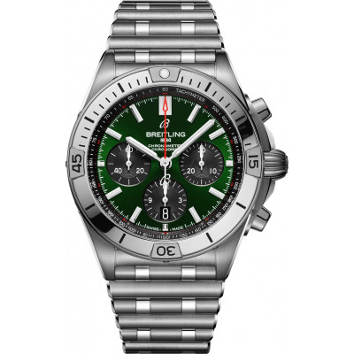 BREITLING CHRONOMAT B01 42 BENTLEY GREEN AB01343A1L1A1
