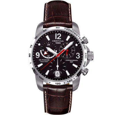 CERTINA DS PODIUM CHRONO GMT 42MM MEN'S WATCH C001.639.16.057.00