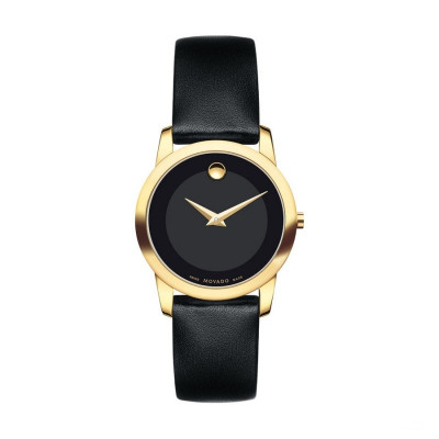 MOVADO MUSEUM QUARTZ 28MM LADY'S WATCH 606877