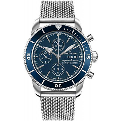 BREITLING SUPEROCEAN HERITAGE CHRONOGRAPH  44 MEN'S WATCH A13313161C1A1
