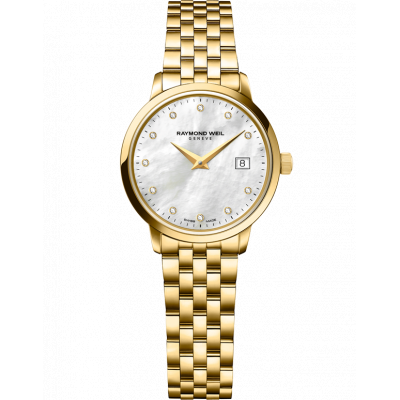 RAYMOND WEIL TOCCATA QUARTZ 29MM LADIES WATCH 5988-P-97081