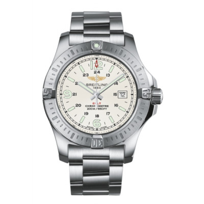 BREITLING COLT SUPER QUARTZ 44MM  MEN'S WATCH A7438811/G792/173A