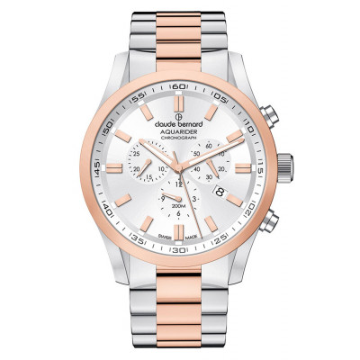 CLAUDE BERNARD AQUARIDER CHRONO 44MM MEN'S WATCH 10222 357RM AIR