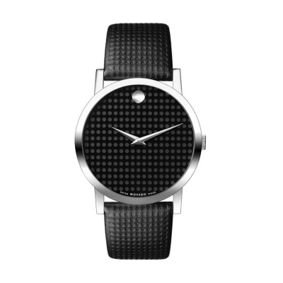 MOVADO MUSEUM QUARTZ 40MM MEN'S WATCH 606018